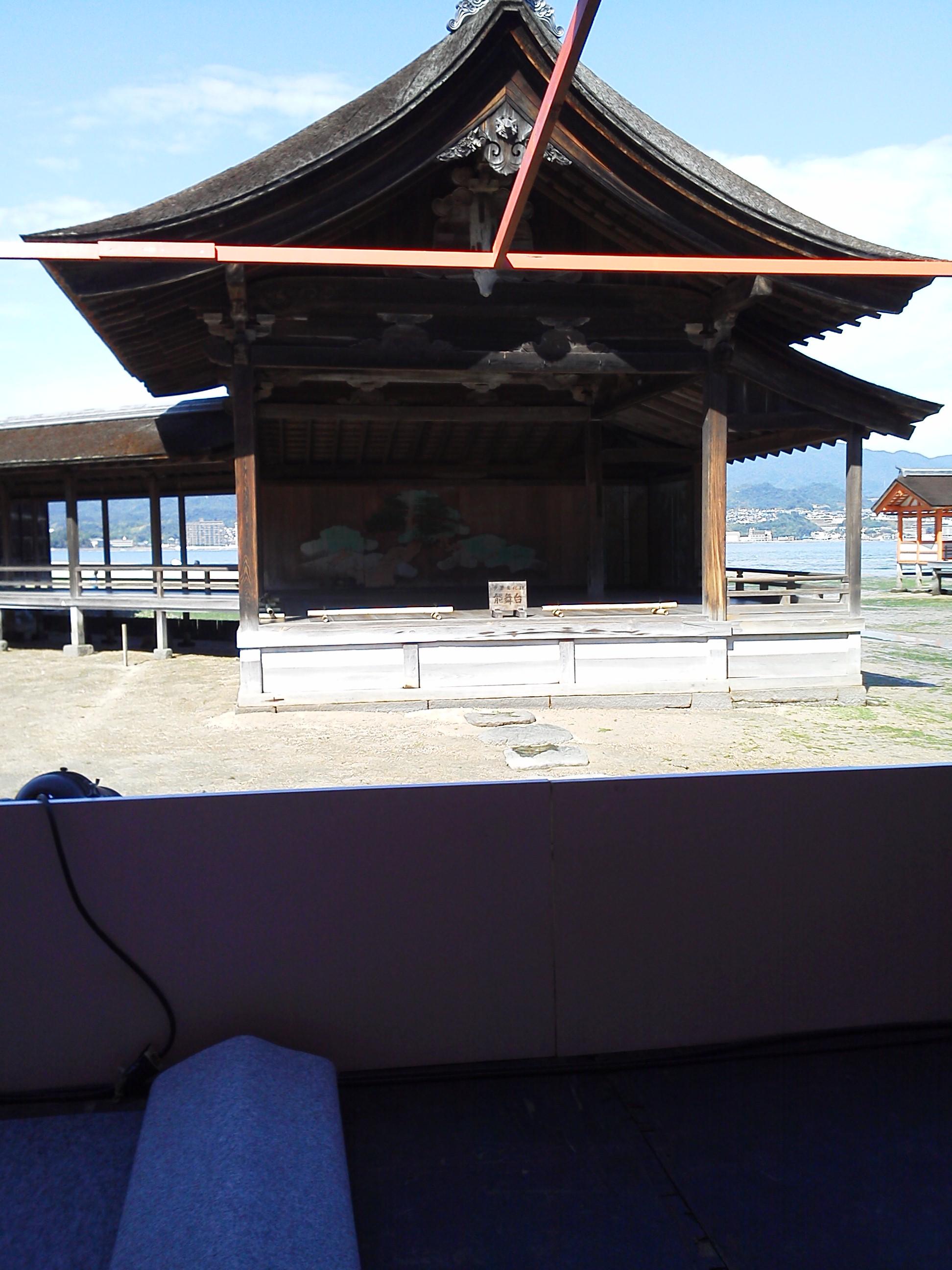 厳島神社 の能舞台