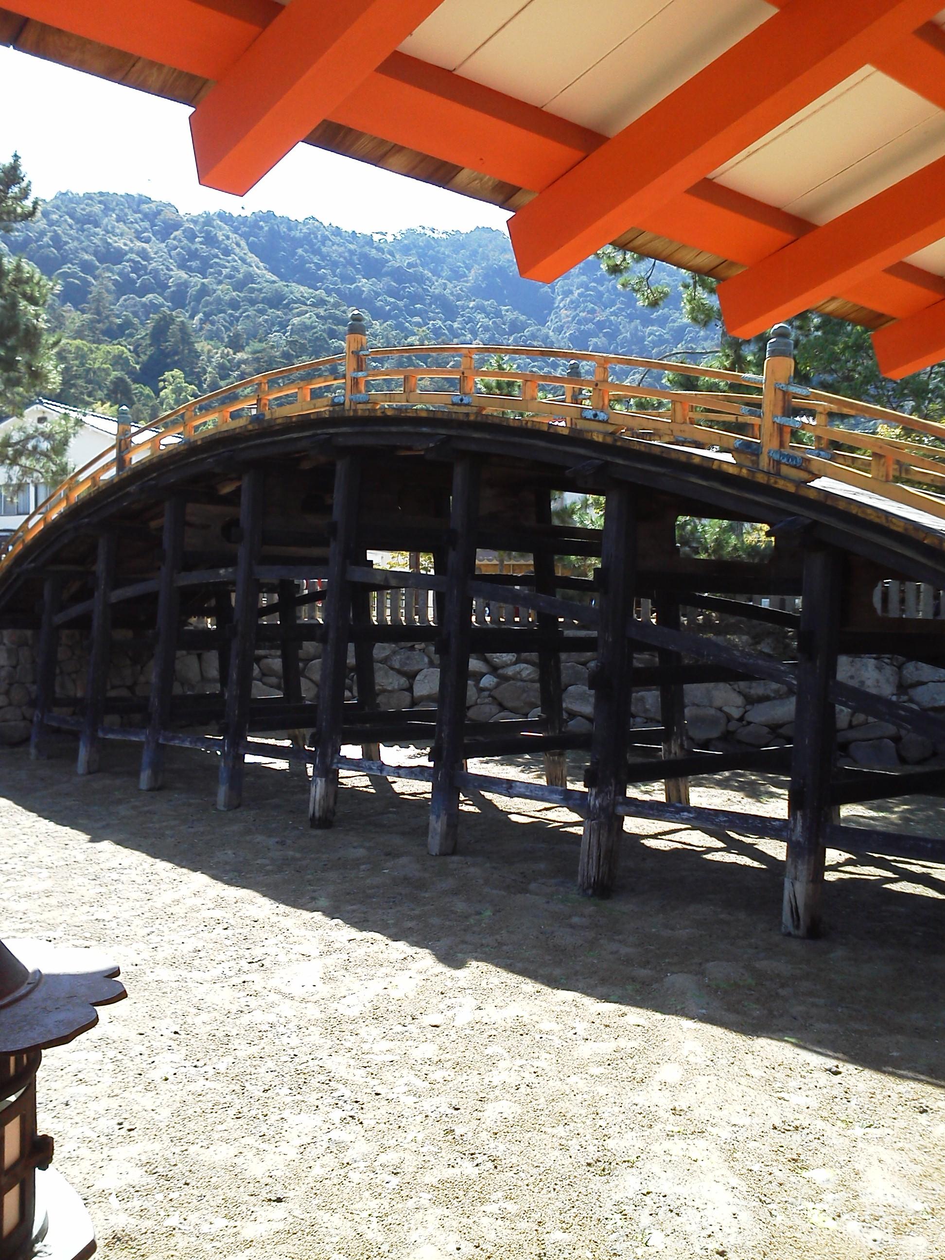 厳島神社 の橋