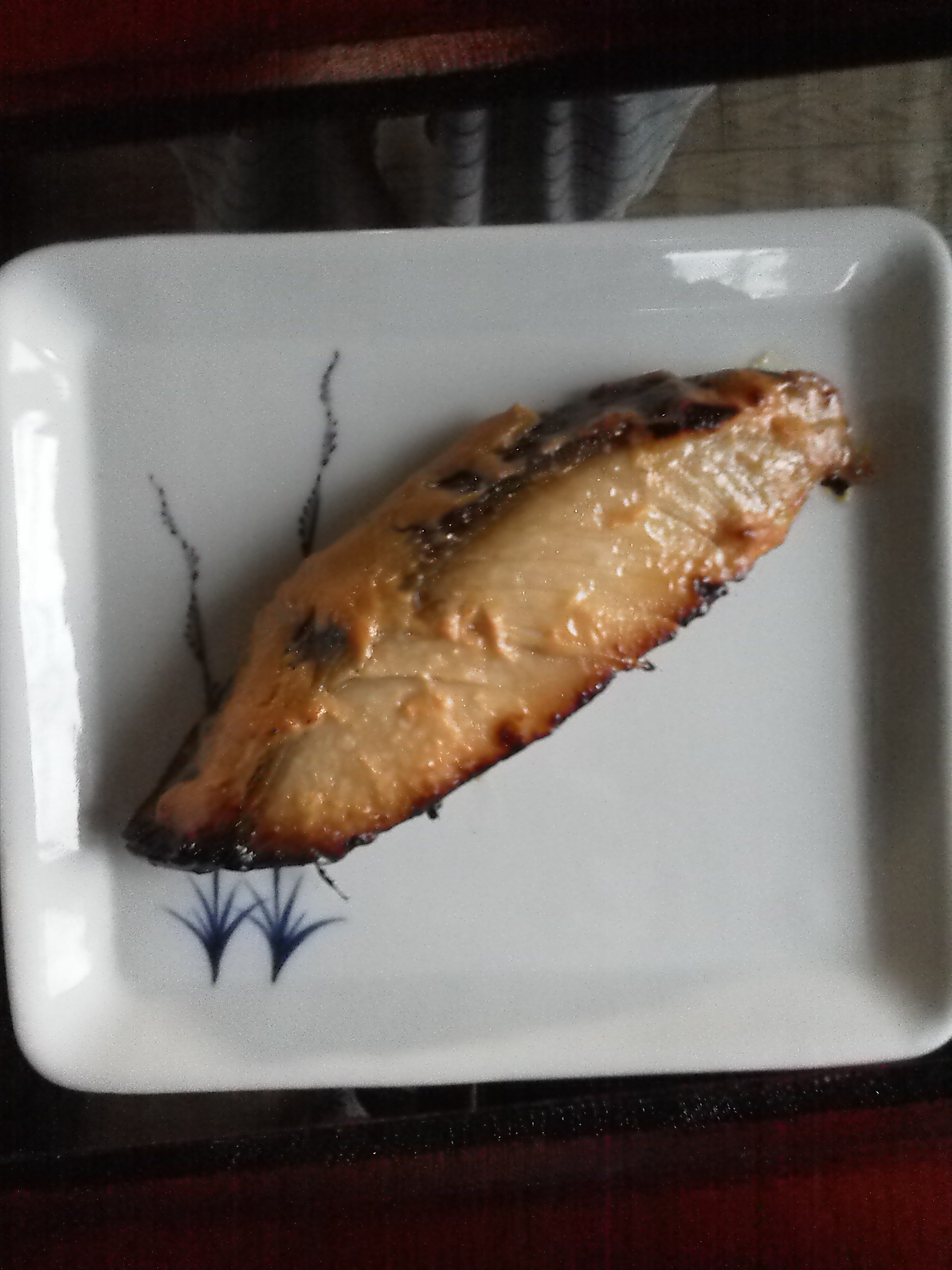 人形町 魚久 京粕漬 ぎんだらを焼く