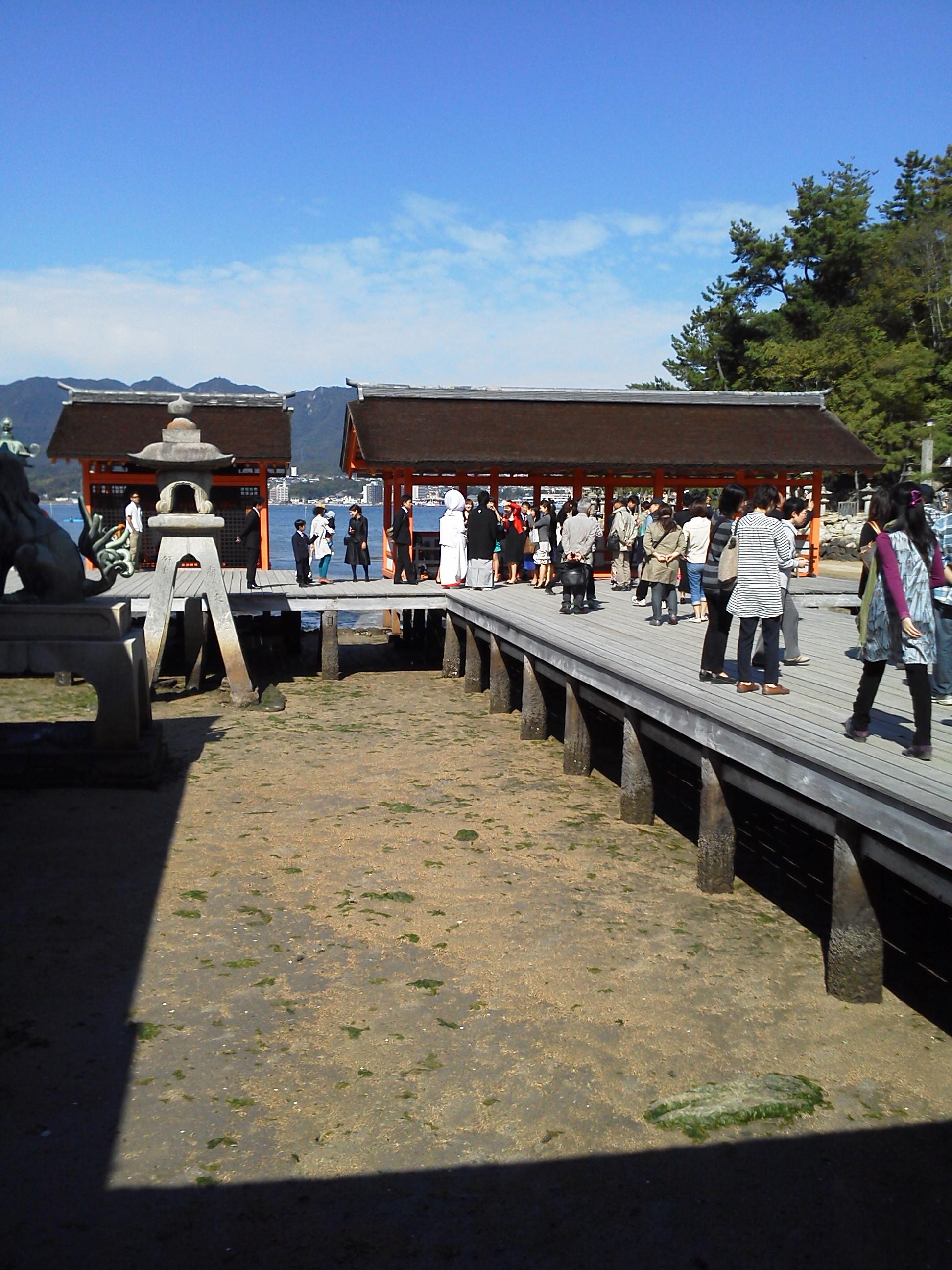 厳島神社の結婚式