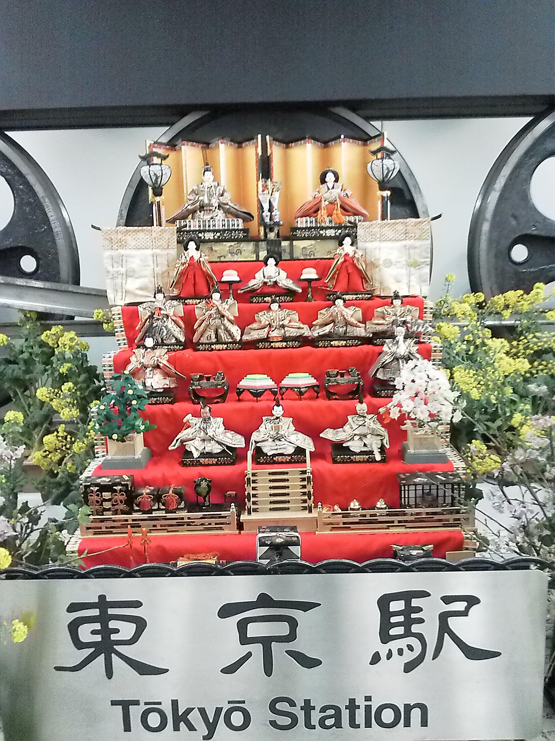 動輪の広場の雛祭り